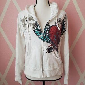 3/$10 🎉 RUE 21 Embellished Zip Hoodie